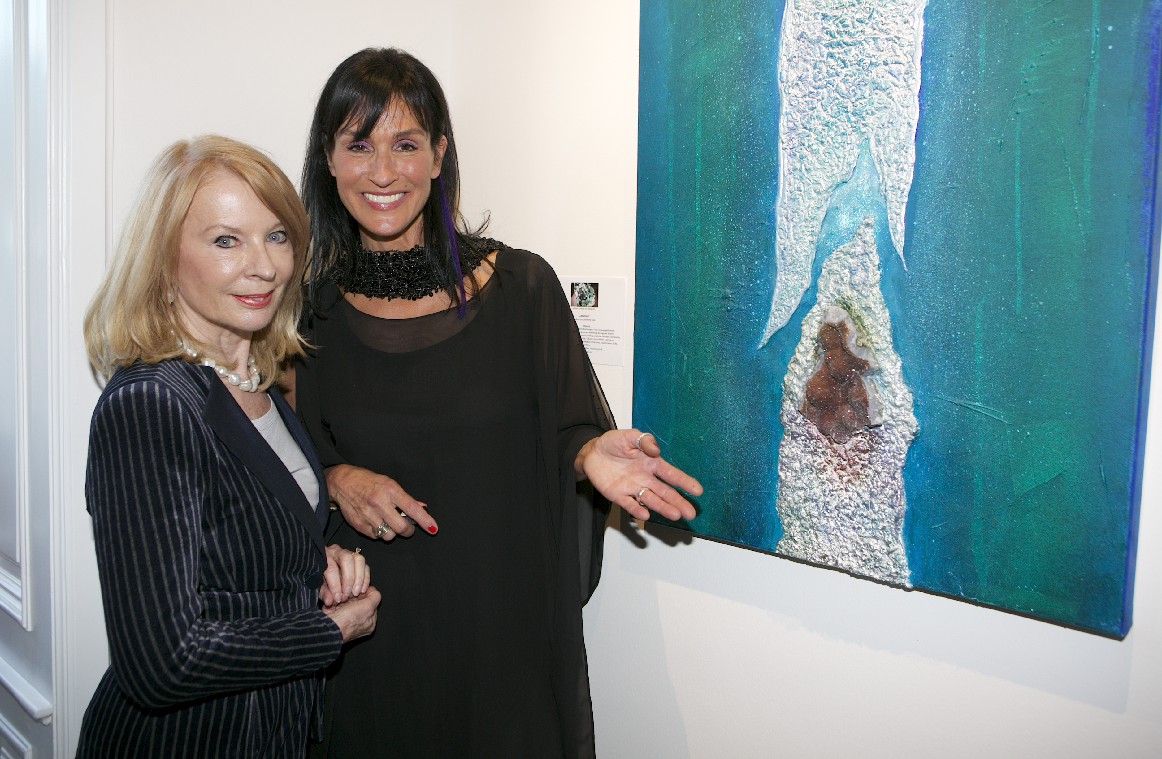 Vernissage Catherine Sica, Wienwert